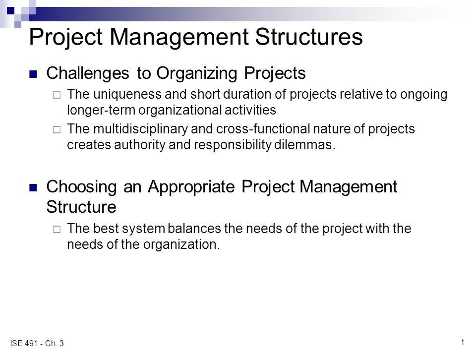 project management structure