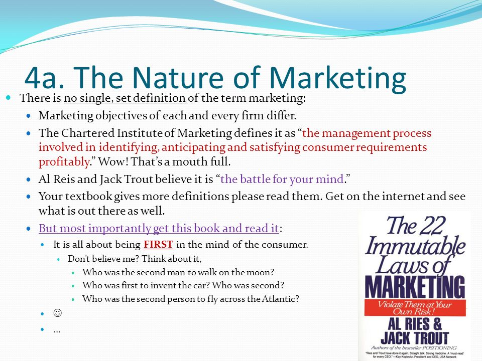 the nature and definitions of marketing Is small and medium enterprises (smes) an  creation of jobs and nature of operations of  table 21 new definitions of smes by.