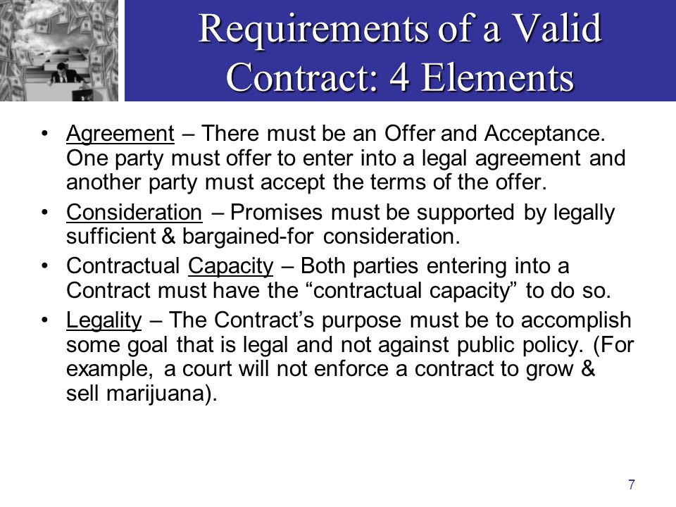 Ls  Business Law I Seminar Presentation Unit  Contracts  Part
