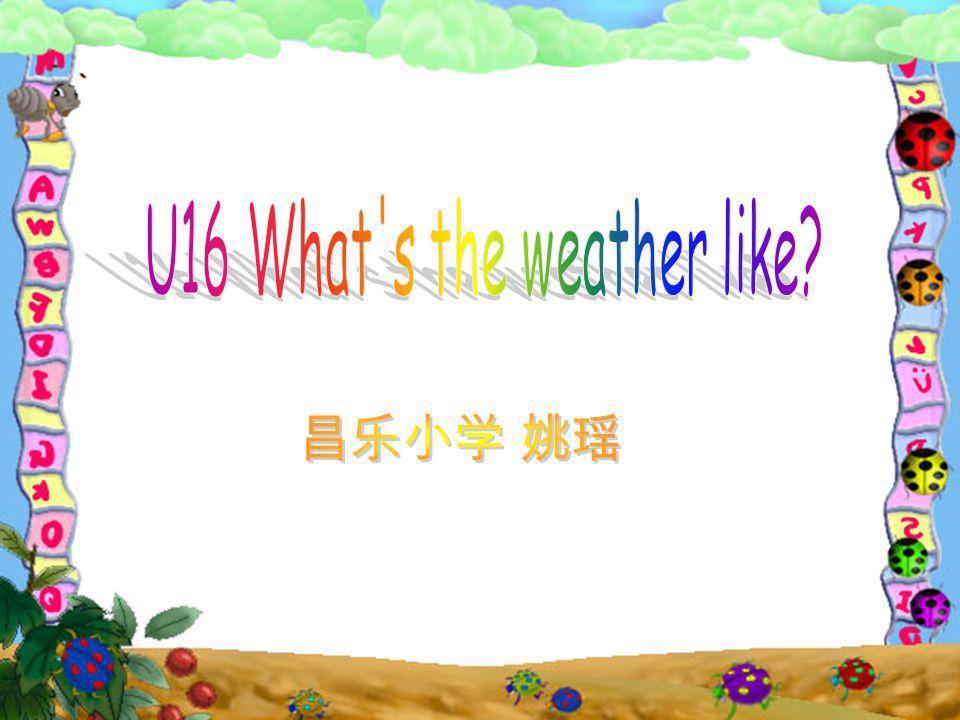 U16 What s the weather like