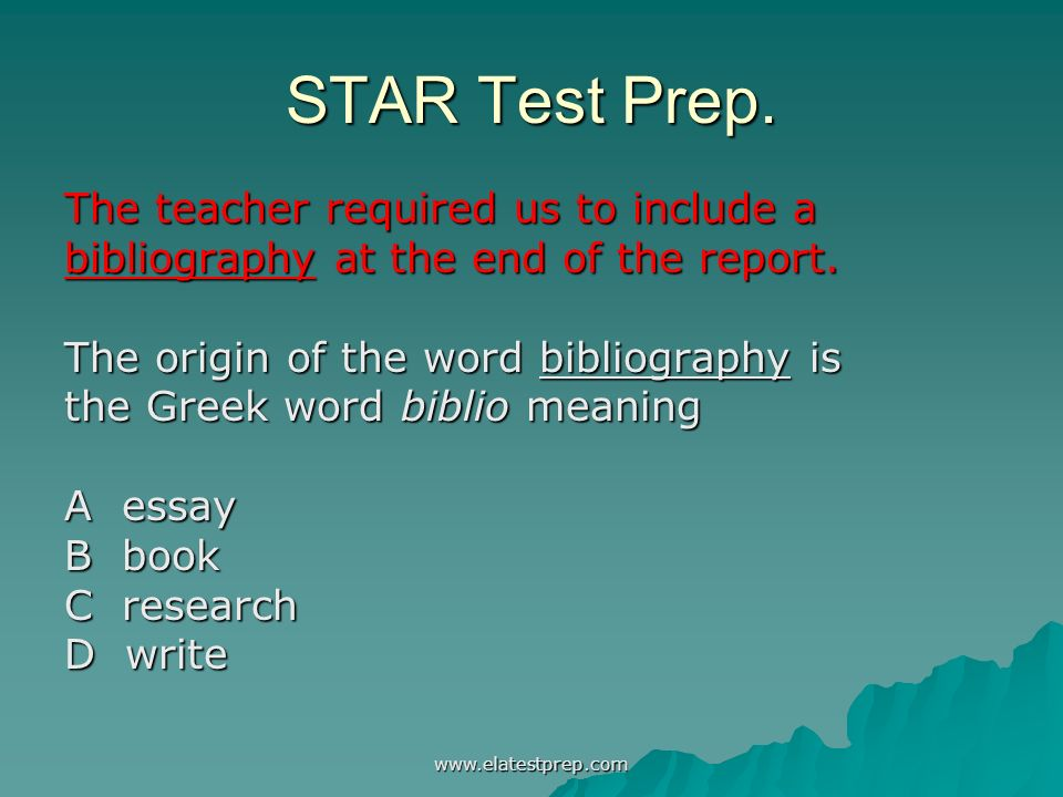 bibliography at the end of an essay Essay basics: format a references page in apa style updated on may 11, 2016 brian scott more contact author format a references page in apa style.