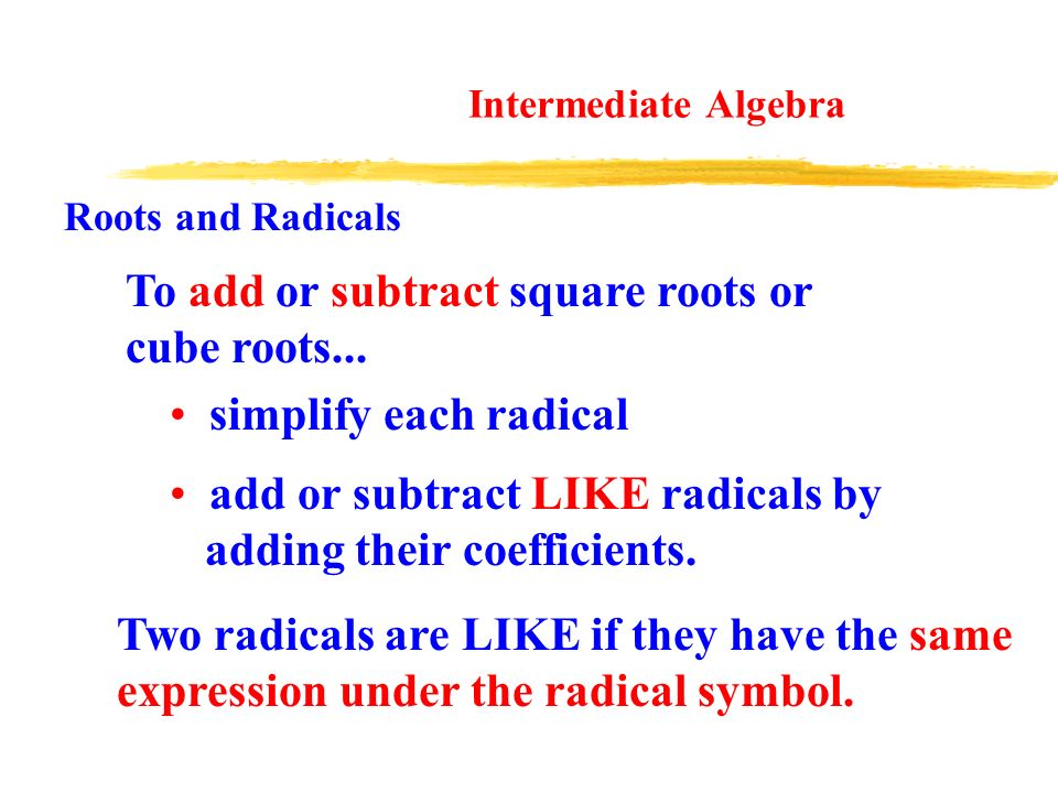 Adding And Subtracting Square Roots With Variables All About – Simplifying Cube Roots Worksheet