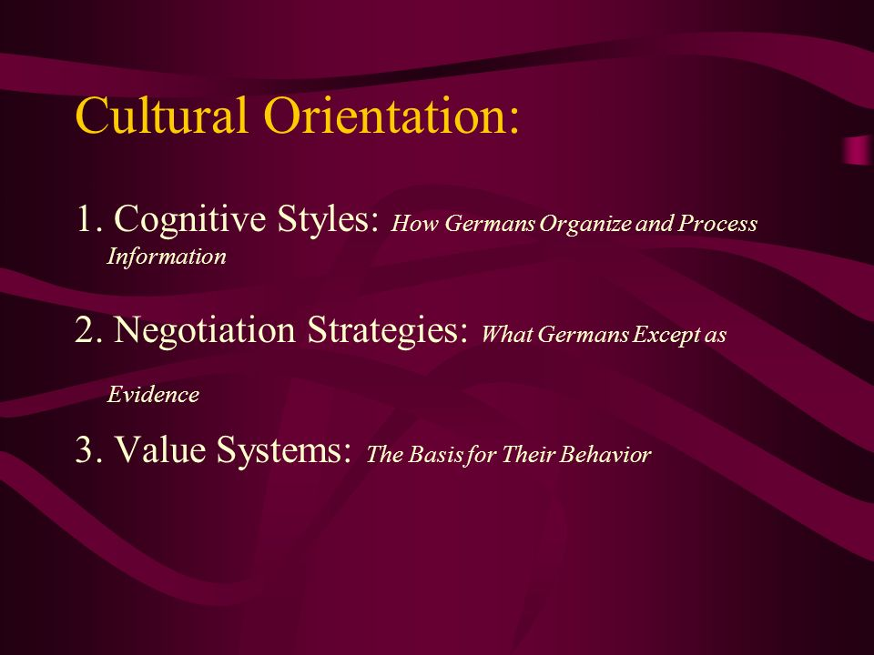 cross cultural negotiation process pdf