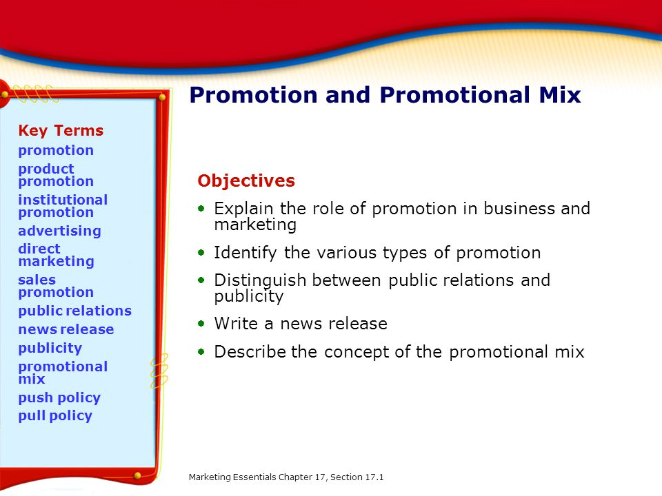 Marketing mix section 3 as