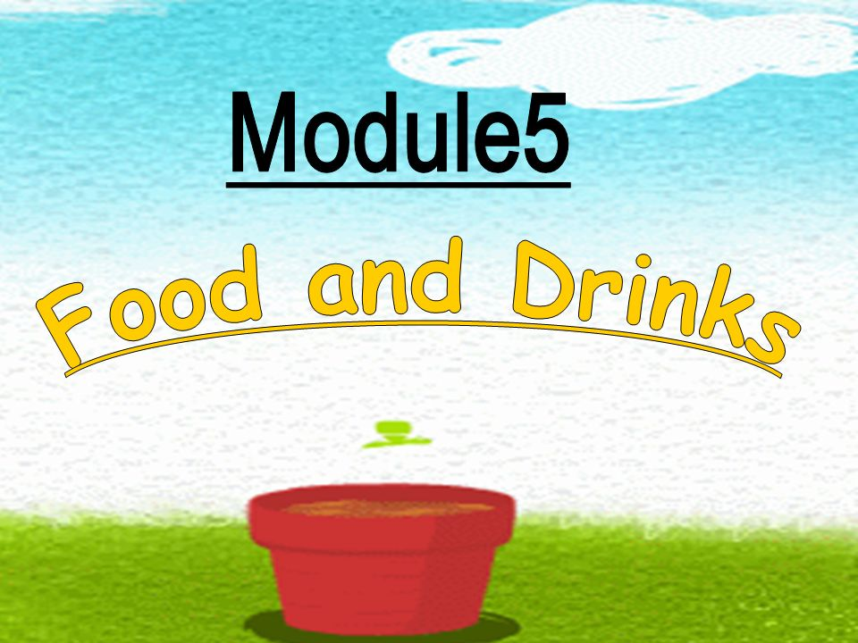 Module5 Food and Drinks