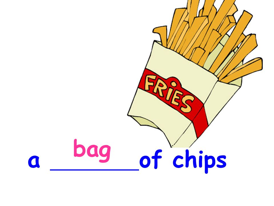 bag a of chips