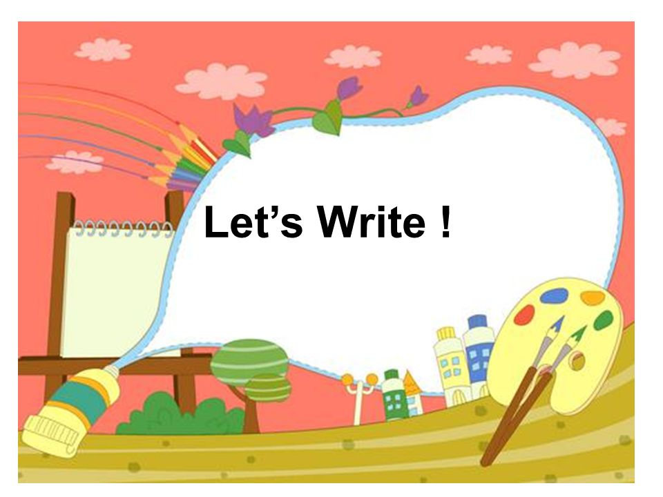 Let's Write !