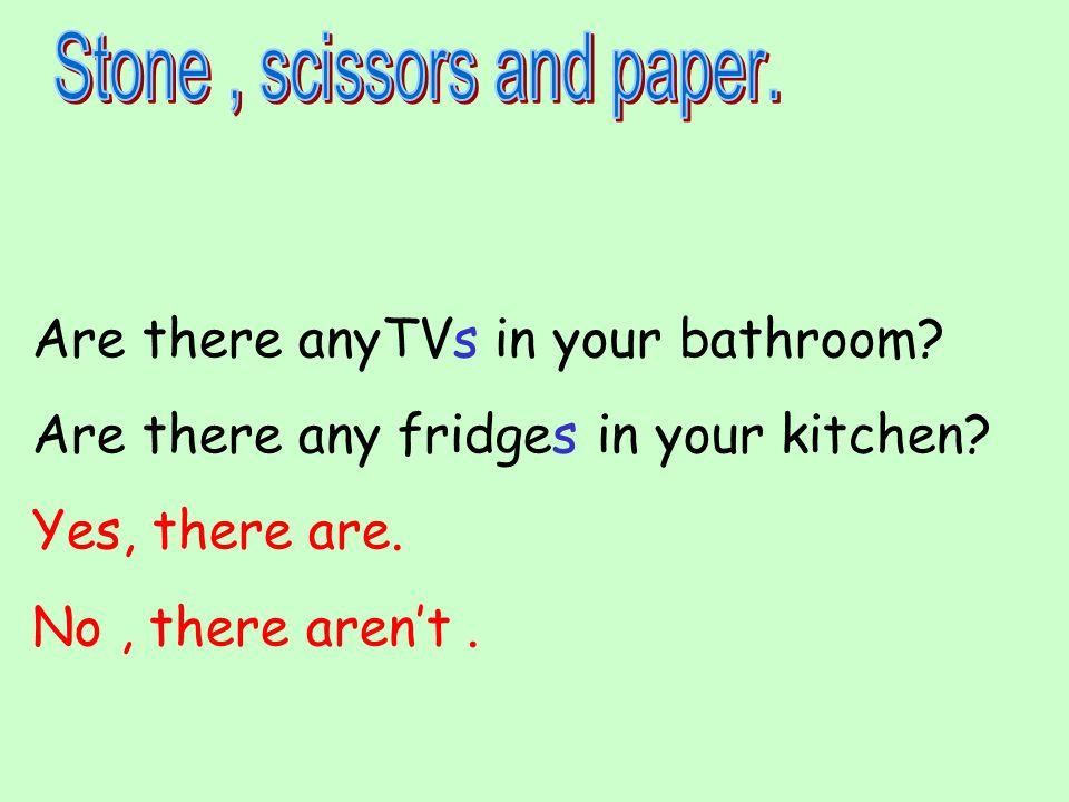 Stone , scissors and paper.