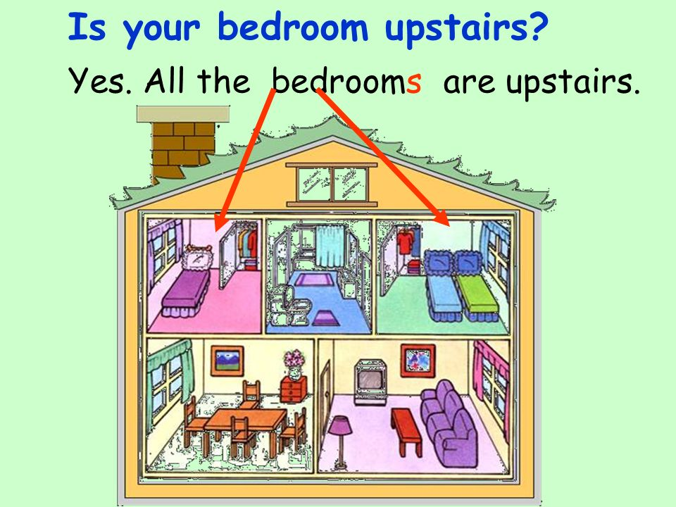 Is your bedroom upstairs
