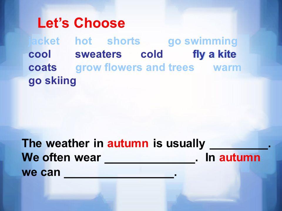 Let's Choose