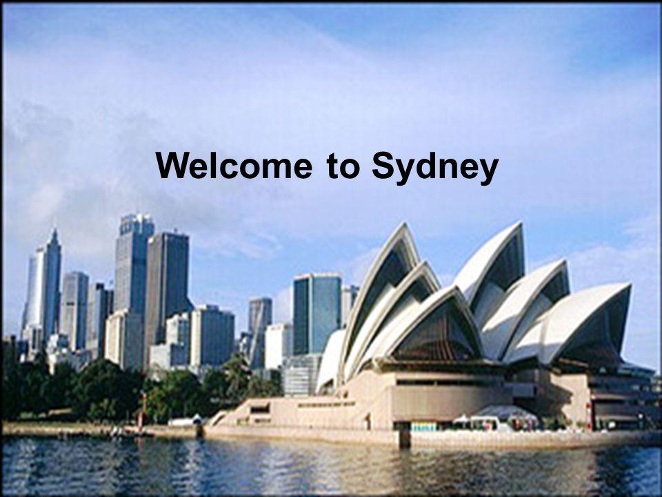 I'm living in Sydney now