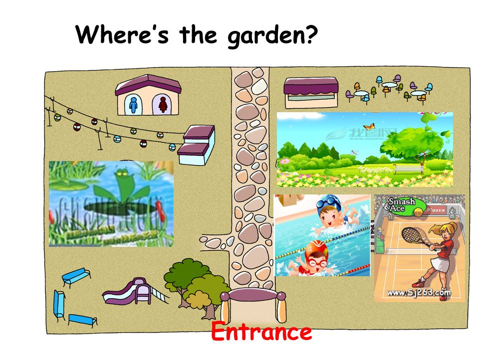 Where's the garden Entrance