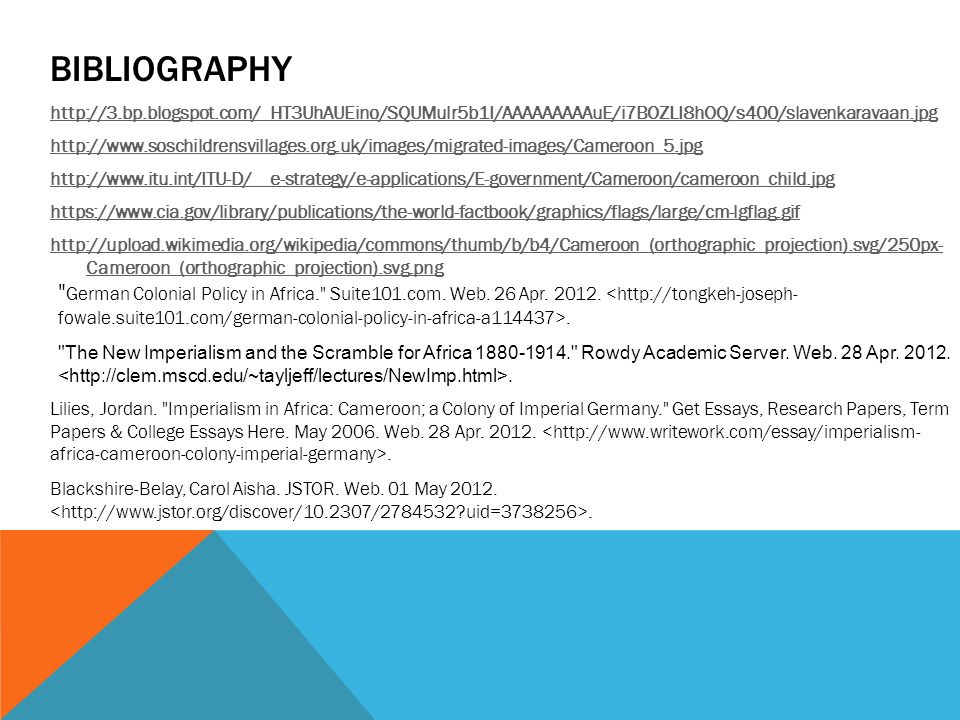 africa sebastian drostby ppt video online  13 bibliography