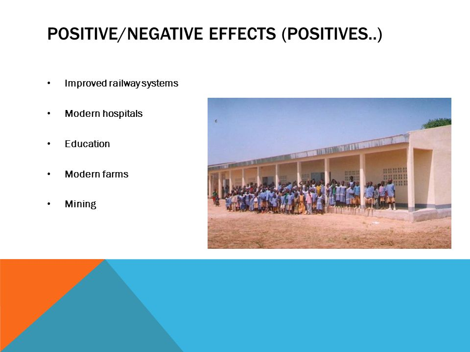 positive and negative effects of imperialism essay Positive and negative effects of imperialism in africa essay  121-122 imperialism and the scramble for africa - duration:  effects of european colonization: .