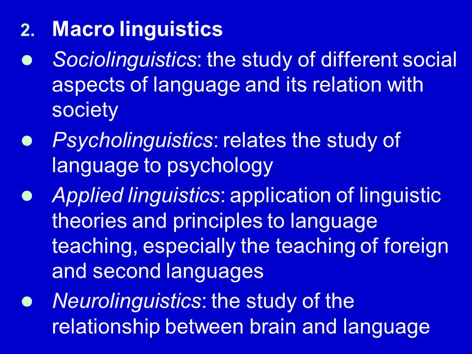 Language, Linguistics, and Translation Studies