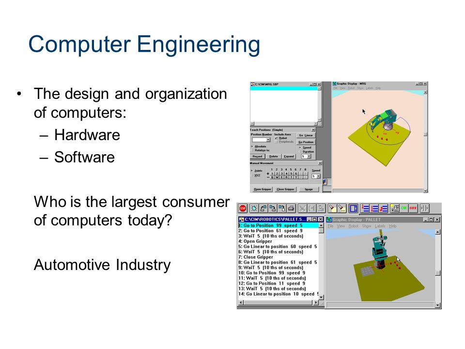 Computer Engineering The design and organization of computers: