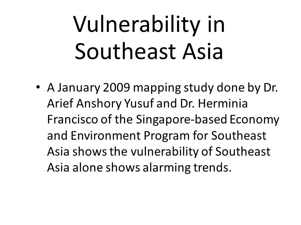 Vulnerability in Southeast Asia