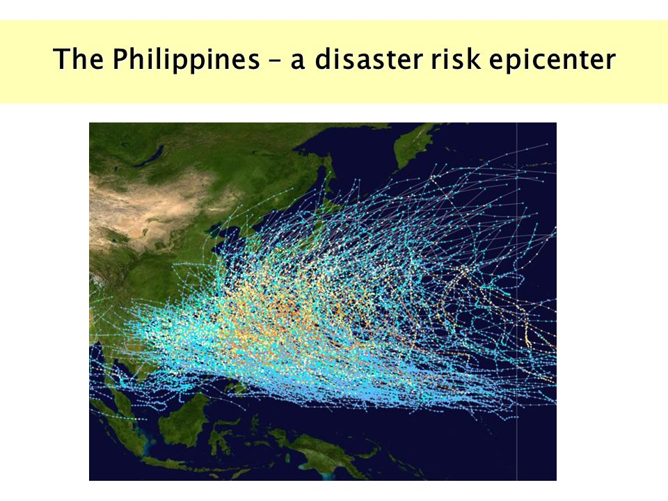 The Philippines – a disaster risk epicenter