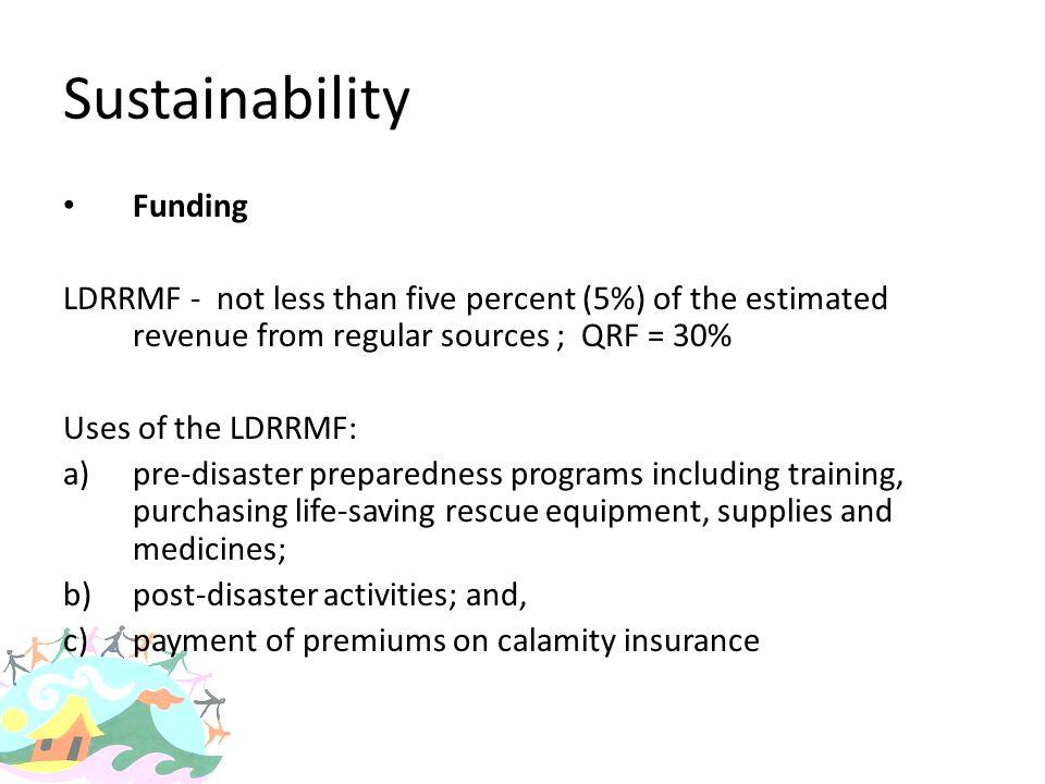 Sustainability Funding