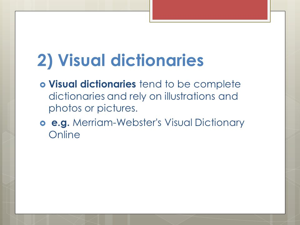 Chapter 1 by ms ola al arjani ppt download for Visual merriam webster