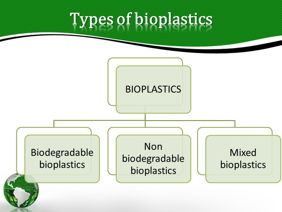 essay on bioplastics Toby reid wants to say just this one word to you: plastics bio-plastics, to be precise the kind made from plants, or that are compostable, or both.