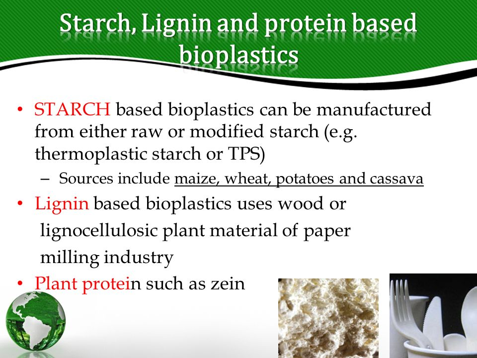 Bioplastic from potato starch pdf