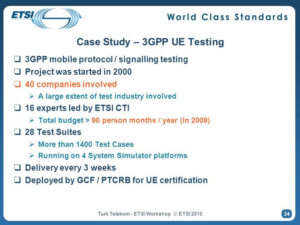 Case Study – 3GPP UE Testing