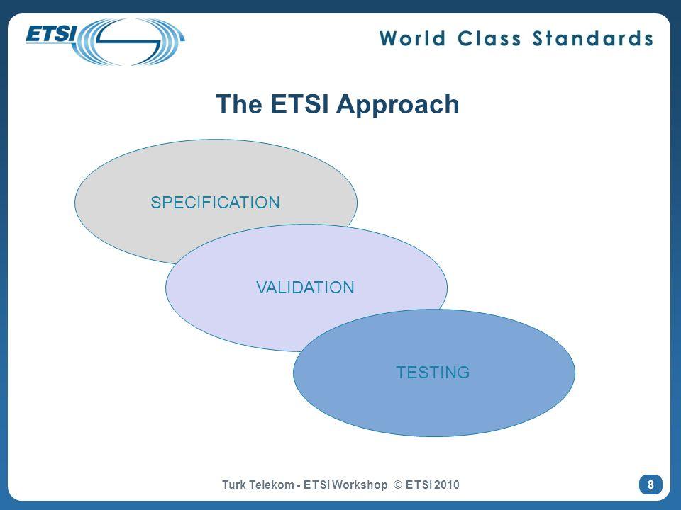 Turk Telekom - ETSI Workshop © ETSI 2010