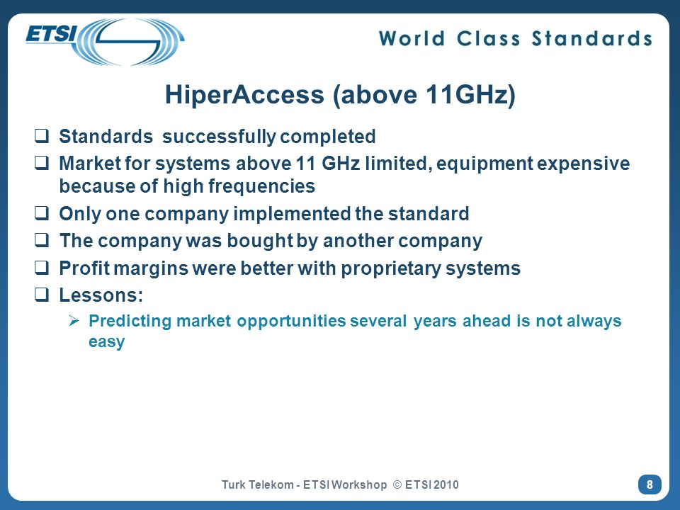HiperAccess (above 11GHz)