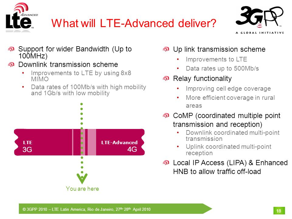 What will LTE-Advanced deliver