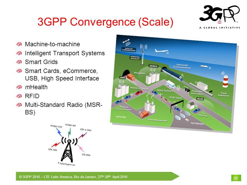 3GPP Convergence (Scale)