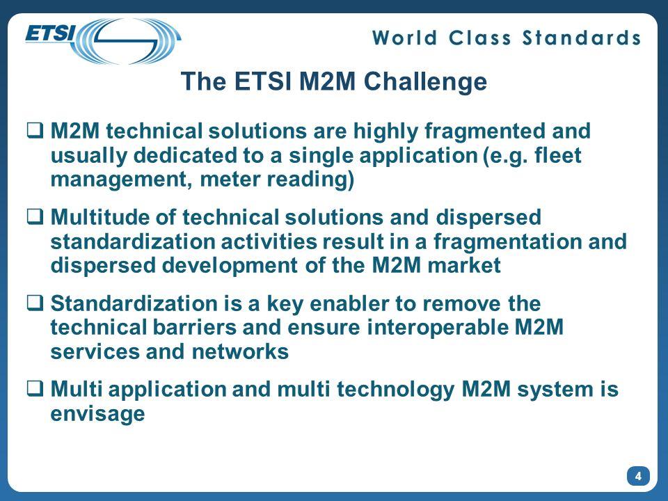 The ETSI M2M Challenge