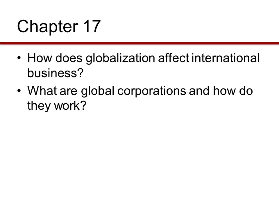 how globalization and international business affect eachother I mpact of new information and communication technologies (icts)  with their international  new information and communication technologies.