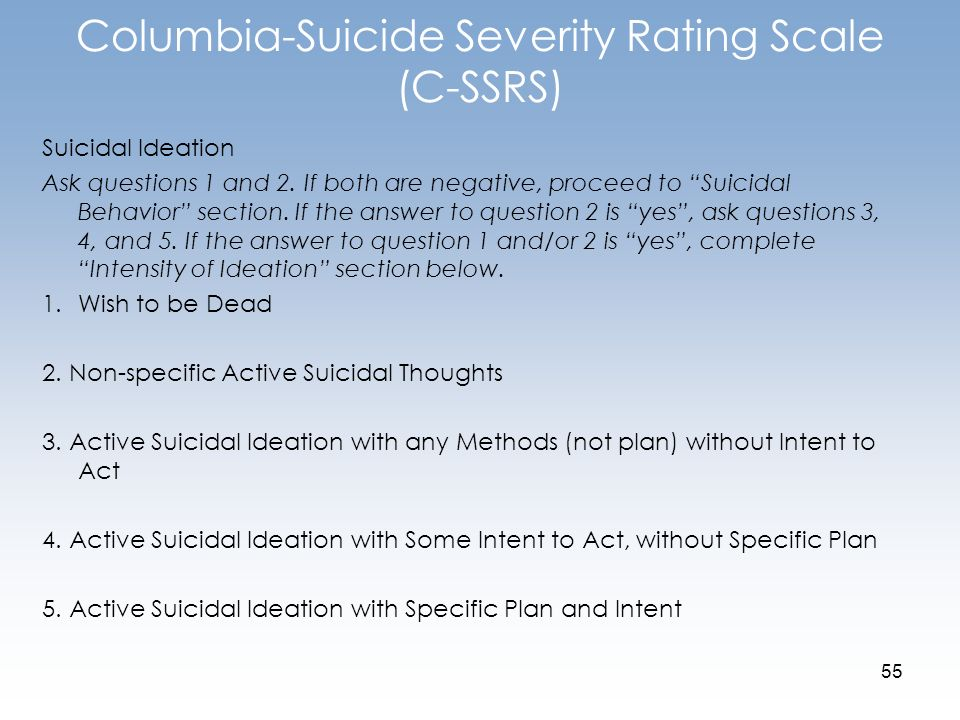 scale for suicidal ideation pdf