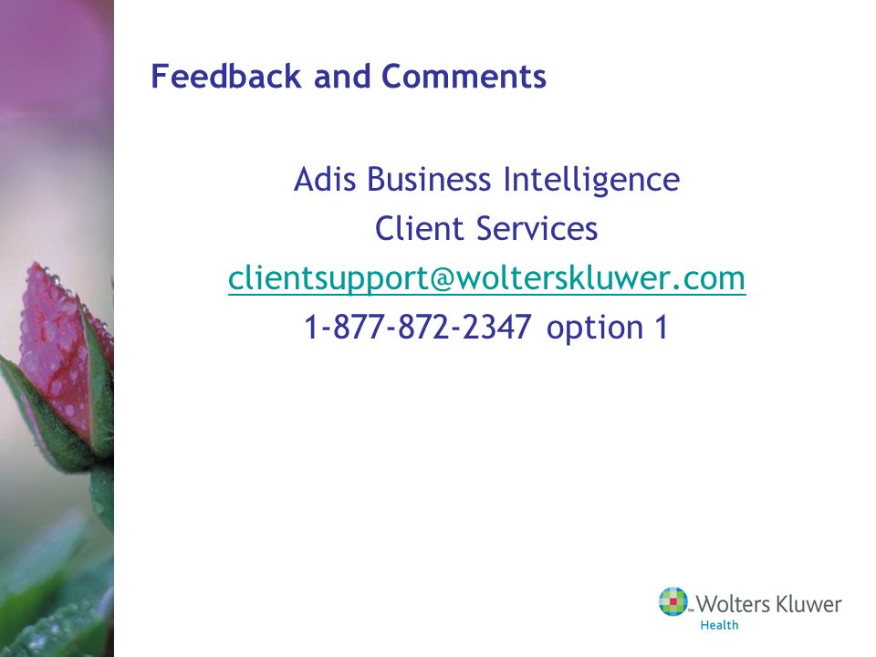Adis Business Intelligence