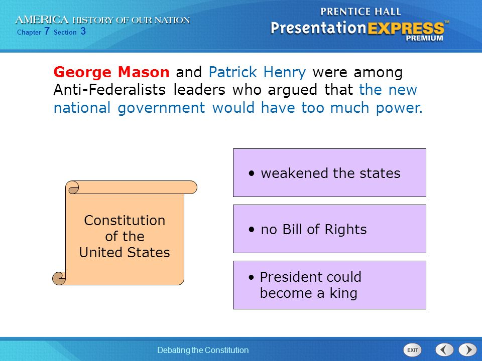 leaders in the states rights debate Protective tariffs: the primary cause of the civil war  in the united states,  he successfully silenced the debate about economic issues and states' rights.