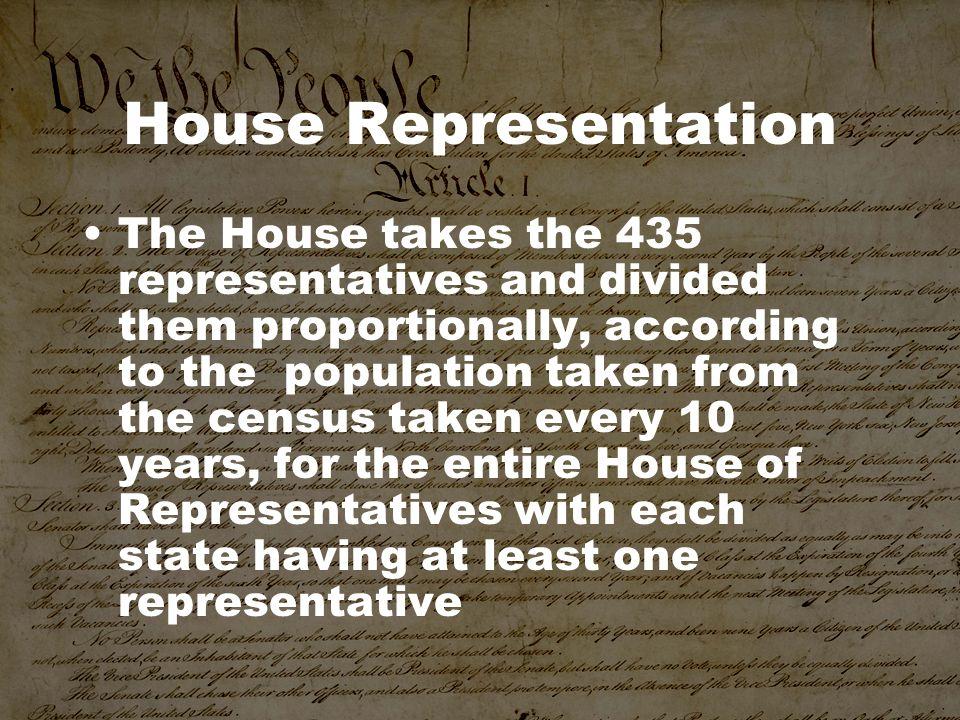 House Representation