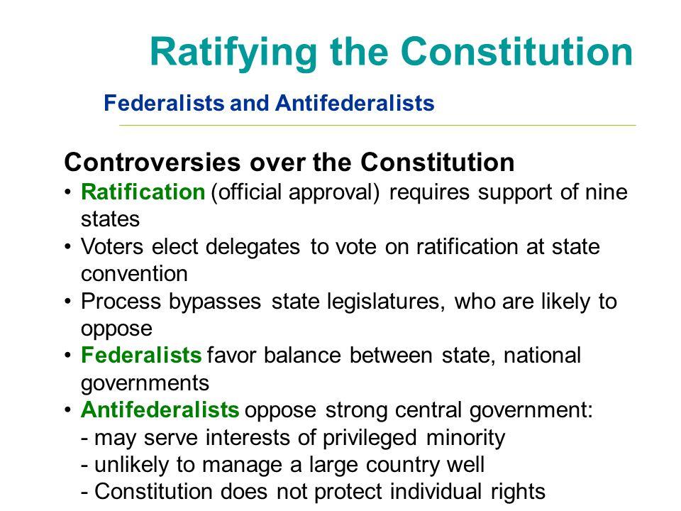 ratification constitution essays