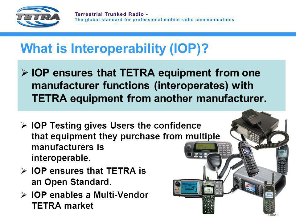 What is Interoperability (IOP)