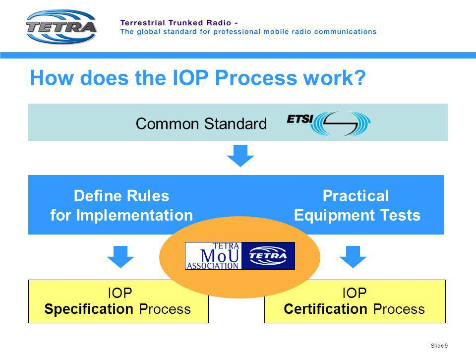 How does the IOP Process work