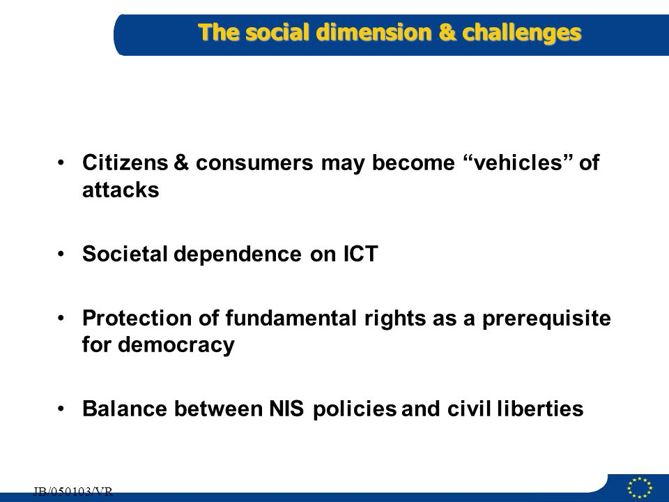 The social dimension & challenges