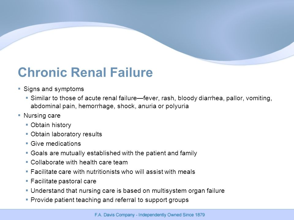 acute renal failure and nursing care essay African americans & kidney disease information vital to the renal care team and ideas that should lead to further peer reviewed research papers as well.