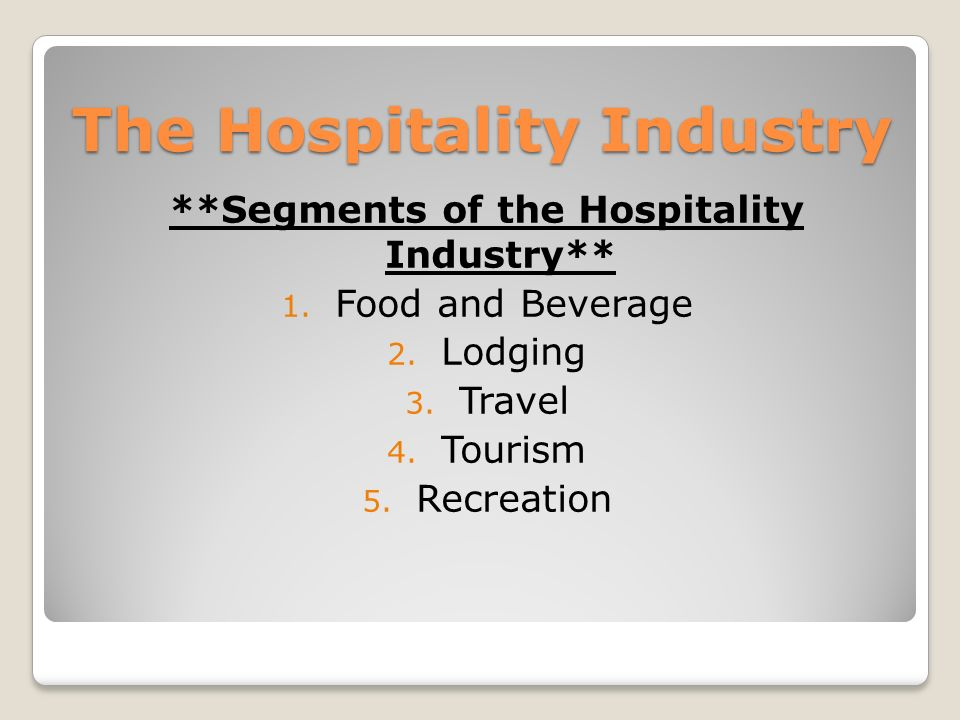 hospitality industry essay Q2 what is the role of a manager in the hospitality industry according to our text book, the manager s role is wide and varied there are three general.