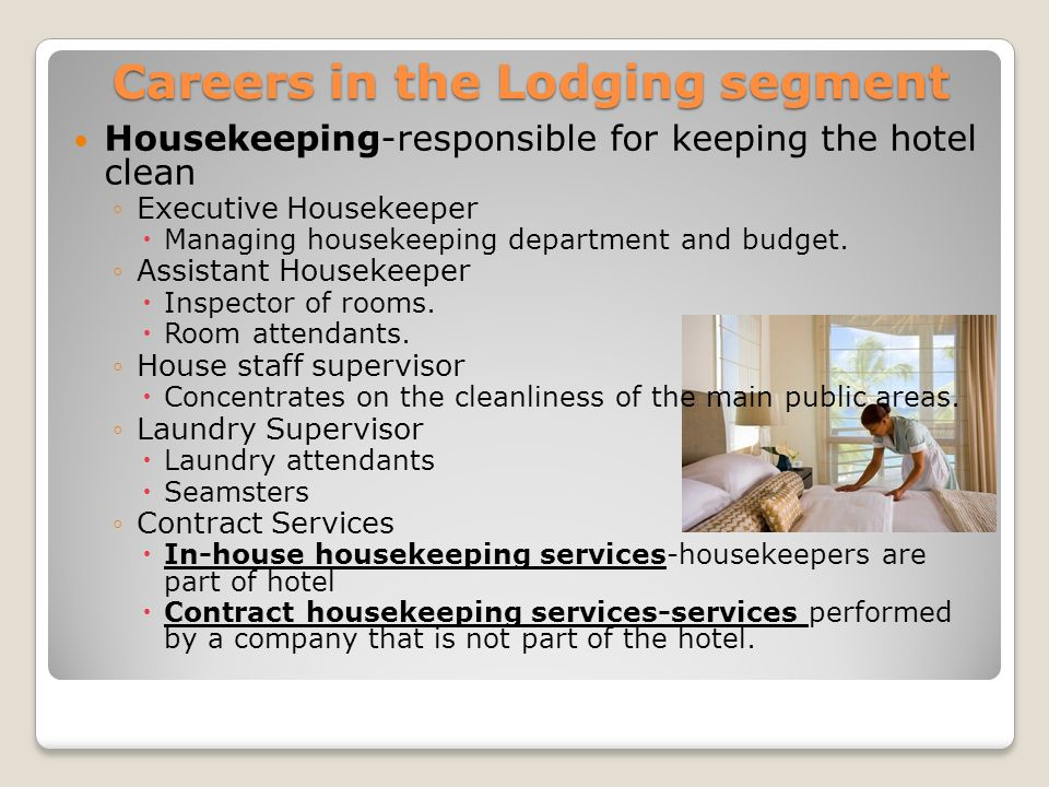 Careers in the Lodging segment