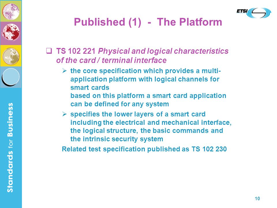 Published (1) - The Platform