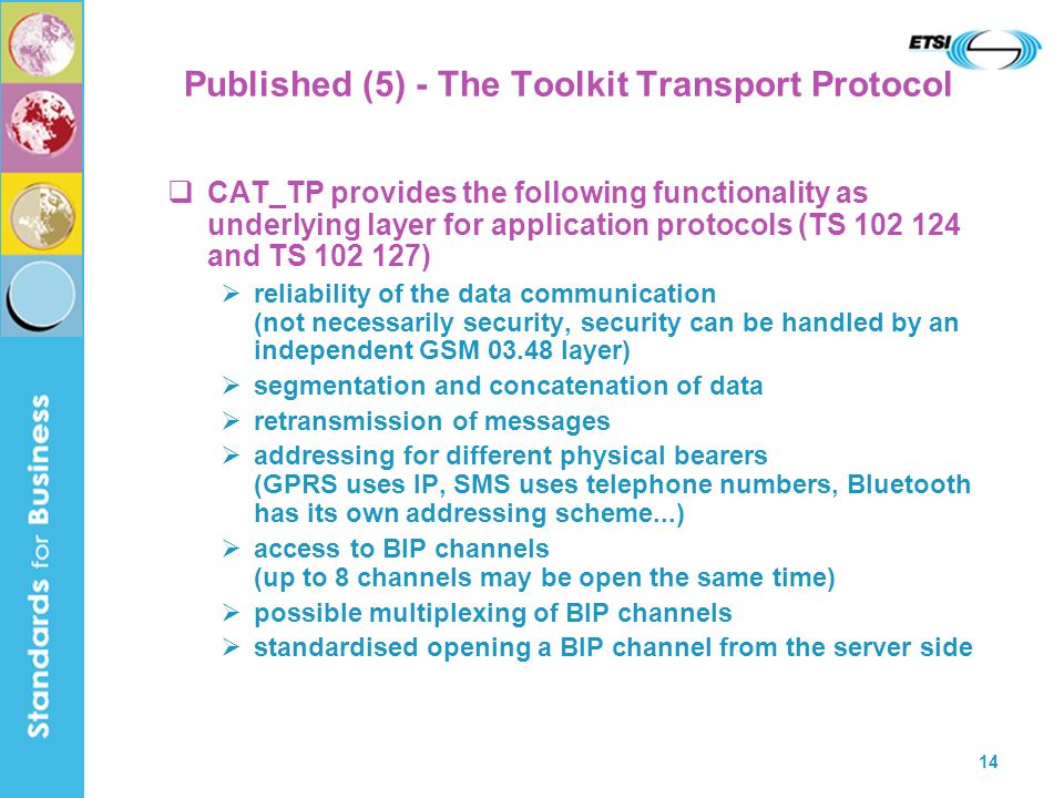 Published (5) - The Toolkit Transport Protocol