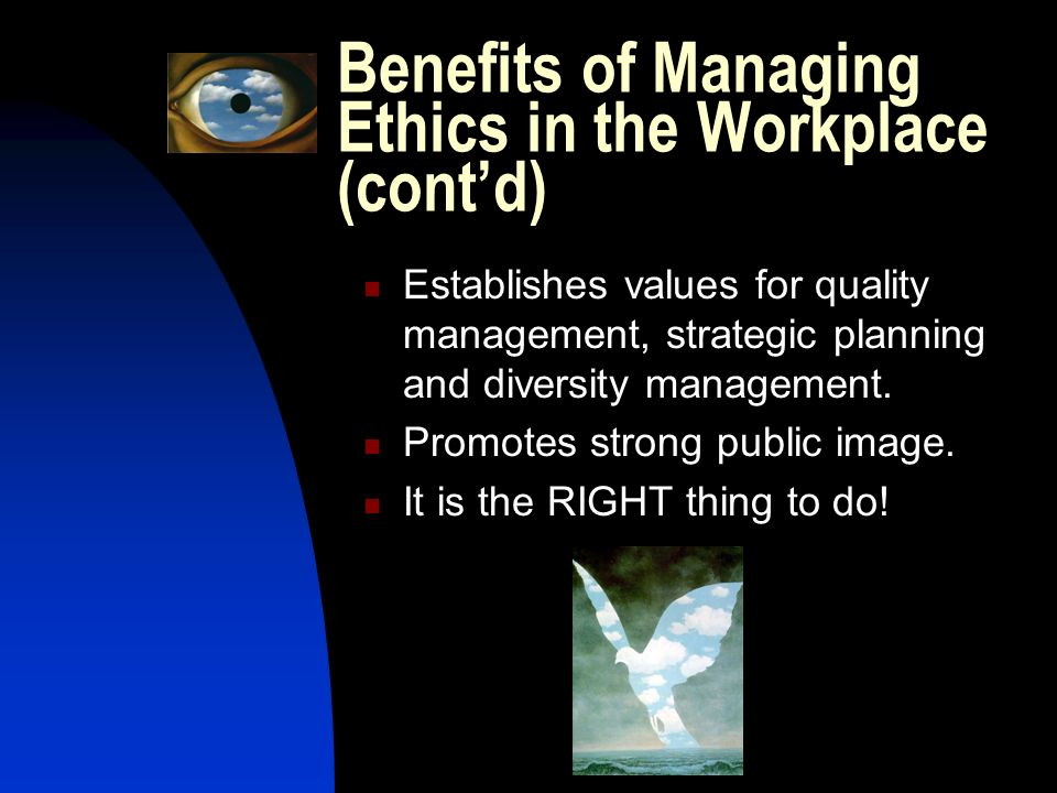"ethics and diversity managment policies Issue on the topic ""management ethics and social responsi- bility amid diversity across nations "", offers several excellent articles to raise awareness of law, ethics, morality, diversity."