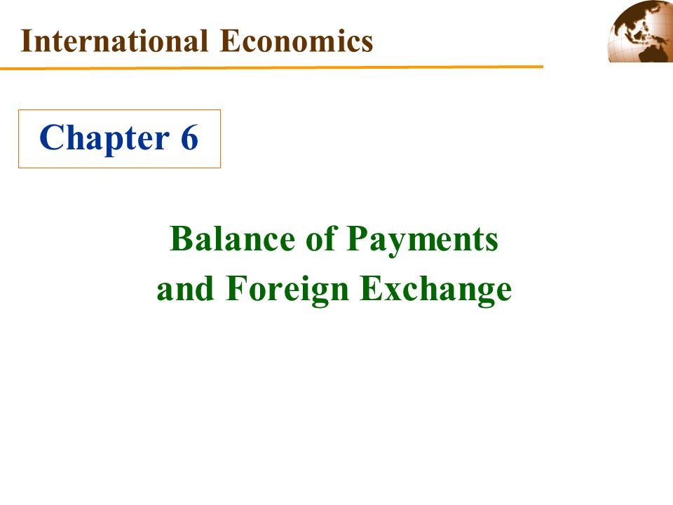 Foreign exchange payments