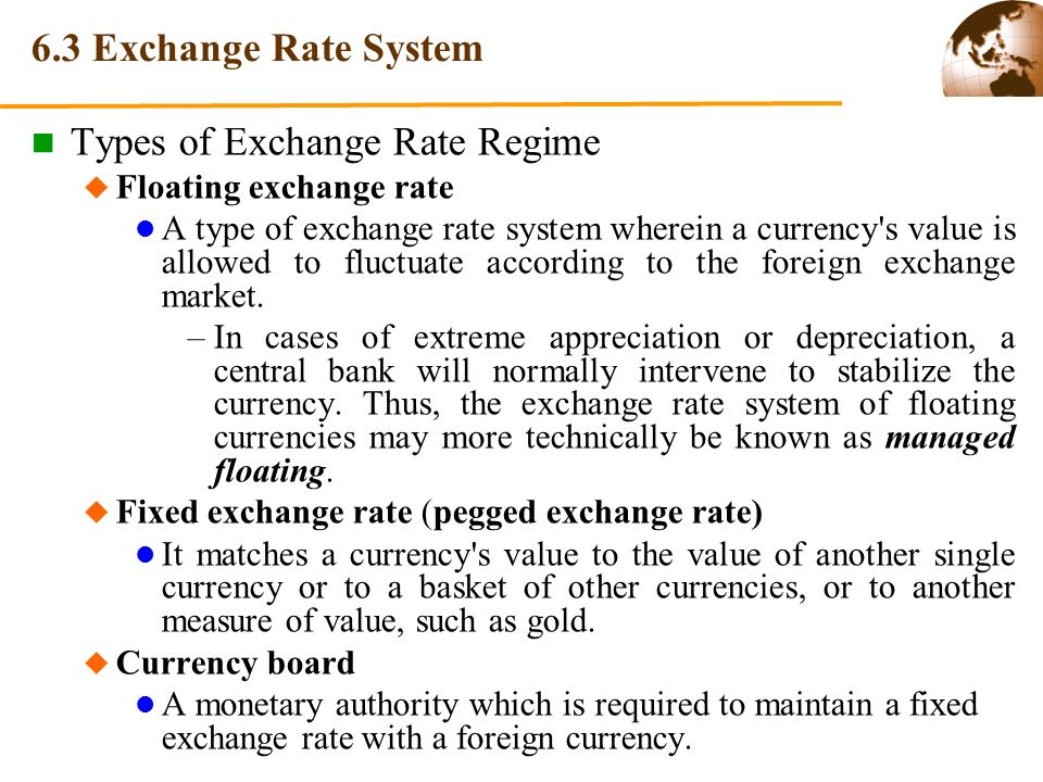 Types of rates in forex market