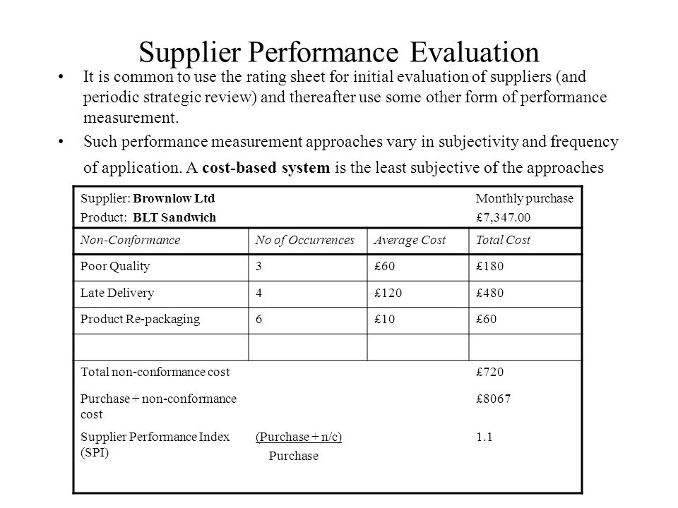 supplier rating system The system of rating securities was originated by john moody in 1909   indicated by rating symbols, with each symbol representing a group in which the  credit.